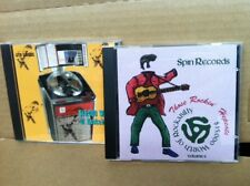 rare LOT of 2 SPIN Records $15,000 Worth of ROCKABILLY CD 's Vol 1 & 2 GET BOTH!