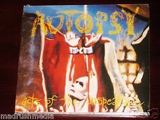 Autopsy: Acts Of The Unspeakable CD 2003 Bonus Tracks Peaceville UK Digipak NEW