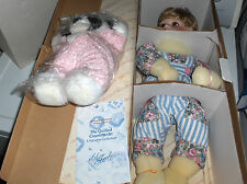 """""""SAMANTHA"""" THE HAMILTON COLLECTION    PORCELAIN DOLL     NEW IN  BOX"""