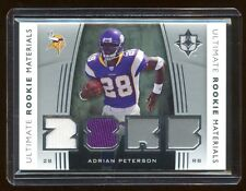 2007 ULTIMATE ADRIAN PETERSON RC DUAL GAME WORN JERSEY RARE   BEAUTIFUL RC OF AP