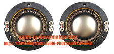 2PCS Replacement Diaphragm Fit For JBL 2425J, 2426J, 2427J, 2420J 16Ohm D16R242