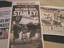 PITTSBURGH PENGUINS Win 2016 Stanley Cup - Tribune Review Newspaper