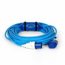 16amp 3pin 230v 20m METERED CABLE HOOKUP LEAD MASTER BOAT