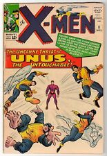 Marvel Comics FN+ 6.5 X MEN  # 8 1 1964  UNUS uncanny