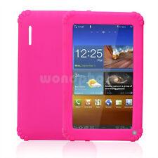 """Funda Cubierta Rosa Silicona Protectora para 7 """"Tablet PC Pad de Buena Venta"""