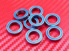 10pc 6702-2RS (15x21x4mm) Metric Blue Rubber Sealed Ball Bearing 15*21*4 6702RS