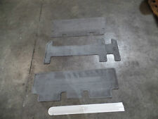 NICE FLOOR MATS OEM MAZDA MPV REAR SET GREY 04 05 06 NEW 3 PIECE MAT