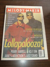 MELODY MAKER 1991 AUGUST 17 METALLICA SIMPLE MINDS CULT BOMB THE BASS ICE-T