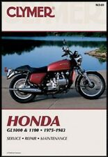 CLYMER SERVICE REPAIR MANUAL HONDA GL1000 GOLD WING 1975 1976 1977 1978 1979