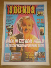 SOUNDS 1991 JAN 19 THROWING MUSES JESUS JONES CURE <