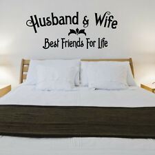 Best Friends For Life Husband Wife Wall Quote Saying Vinyl Sticker Decal Mural