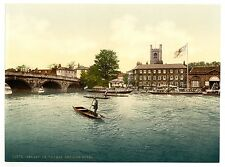3 Vicrorian Views Henley on Thames Red Lion Hotel Regatta Old Photos Pictures