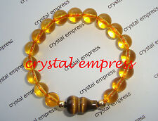 Feng Shui - Citrine with Tiger Eye Wu Lou Kids Bracelet