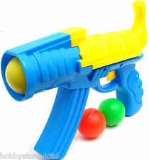 Toy Gun Pop Gun Ball Blaster Air Blaster 3 Balls Spring Loaded Plastic Gun Toy
