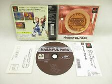 PS1 HARMFUL PARK GOOD Condition with SPINE * FREE SHIPPING Playstation Game p1