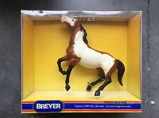 Retired Breyer Horse #828 Paint American Semi-Rearing Mustang Bay Overo New NIB