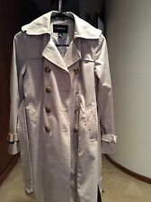 LONDON FOG Rain Trench coat, Beige, Size PXS for Women