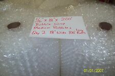 "5/16"" WP Medium Bubble. Wrap my Padding Roll. 200' x 18"" Wide 200FT Perf 12"""