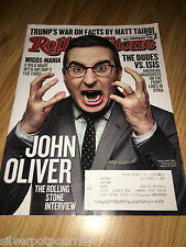 Feb 23-March 9, 2017 issue of Rolling Stone Magazine John Oliver  #259