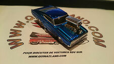 Muscle Machines 66 Dodge Charger série original version bleu (0006)