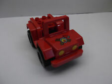 LEGO Brand New Duplo Jeep Truck Car black and Red  Fire from Fire Chief Set 6169