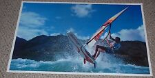 WIND SURFER getting air 1982 Poster AA Graphics Louis Kruk Wind Surfing