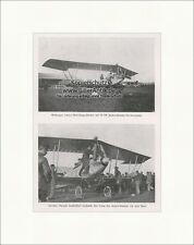 Wittmanns Lohner-Doppeldecker mit Austro Daimler 1914 Flugzeuge F Original 00403
