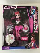 Monster High Doll Ghouls Rule Draculaura Mint FACTORY SEALED 2012 Mattel
