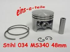 Kolben passend für Stihl 034 Super 48mm NEU Top Qualität