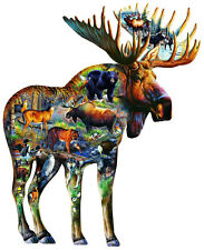 Walk on the Wild Side 650 Piece Shaped Jigsaw Puzzle by SunsOut