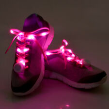 LED Light Up Glow Shoe Laces Luminous Flash Strap Shoelace RGB Party Party Disco
