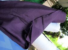 "Light Gauze Saloo NumChai Thailand Cotton Fabric - 40"" x 1 yard - Dark Purple"