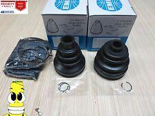 Rear Inner & Outer CV Axle Boot Kit For Honda Ridgeline 2006-2010 EMPI Boots AWD