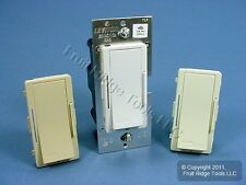 Leviton White/Ivory/Almond Vizia Light Dimmer Remote Control Switch VZ00R-1LX