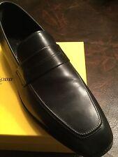 John Lobb NIB Kipling Model Sz 9 1/2E Black Calf Leather Retail$1320