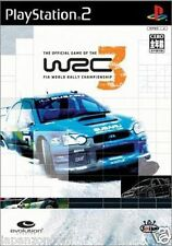 Used PS2 WRC 3 SONY PLAYSTATION 2 JAPAN
