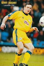 Football Photo GERRY TAGGART Leicester City 2000-01