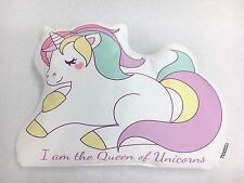 I Am The Queen of Unicorns Shaped Cushion - Perfect Unique Gift