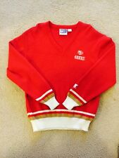 49ers Starter V-neck Sweater Small Forty Niners NFL San Francisco Vintage