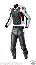 BMW RACER MOTORCYCLE LEATHER SUIT MOTORBIKE SUIT BIKER JACKET TROUSER ALL-SIZE