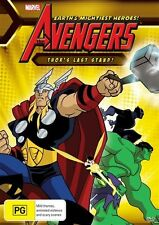 The Avengers - Thor's Last StandDVD Region 4 (VG Condition) thors
