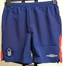 NOTTINGHAM FOREST 09/10 AWAY FOOTBALL SHORTS BY UMBRO SIZE SMALL BRAND NEW