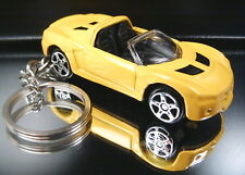 Yellow Opel Speedster Key Chain Ring 2001-2005 Diecast Fob