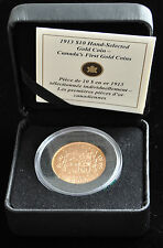Hand-Selected 1913 - $10 Gold Coin Royal Canadian Mint / Bank of Canada Hoard