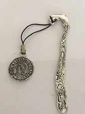Aethelred II Coin WC3 Made From English Pewter On  DOLPHIN Bookmark