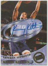 KERRY KITTLES Personally AUTOGRAPHED 1998 PRESS PASS AUTHENTICS Basketball Card