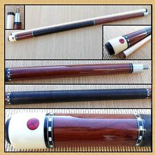 "Cocobolo 58"" Two-Piece Pool Cue (18 - 21 oz) BC-1B"