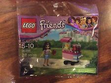 New Lego Friends Set 30396 Emma's Cupcake Stand in Sealed Poly Bag