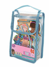 DOC MCSTUFFINS CHILDRENS JIGSAW BATH TOY SET OF 4 x FOAM PUZZLES DISNEY 17443