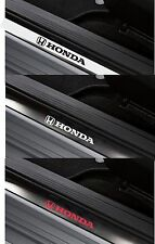 For HONDA - 4 x Inner Door Sill CAR DECAL STICKER ADHESIVE  Civic - 150mm long
